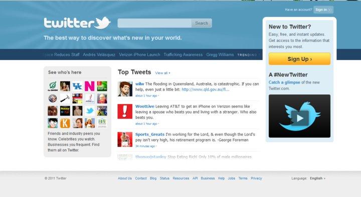 Top of Twitter